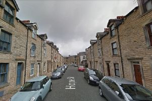 The fire involved a tumble dryer in the basement of a terraced home in Hope Street, Lancaster