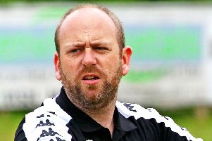 Lancaster City FC manager Mark Fell has celebrated his one-year anniversary
