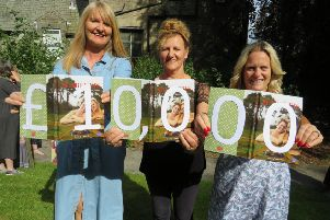 Anne Marie Casement, Angie Elders and Andrea Partridge from the Knocker Jotter project.
