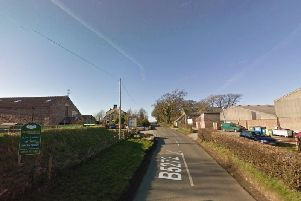 The crash happened on Ratcliffe Wharf Lane in Forton at 8.15am this morning (October 10)