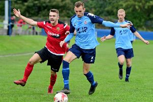 Oliver Fearon put Liversedge ahead for a third time as they secured a 5-3 win at Albion Sports in the NCE Premier Division.