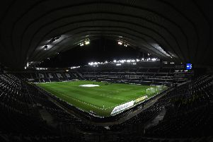 Pride Park will host Wigan Athletic on Wednesday night.