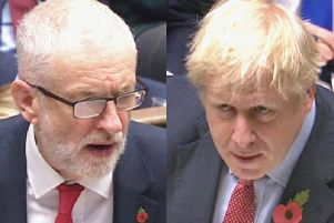Jeremy Corbyn and Boris Johnson will go head-to-head in a General Election debate. Photo: PA.