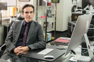 Ben Chaplin stars as a tabloid newspaper editor in Press, the new BBC1 drama from the writer of Doctor Foster