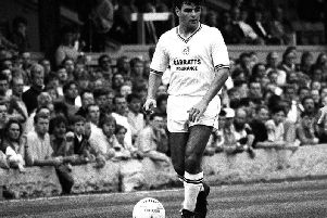Brian Mooney in action for a shambolic Preston North End