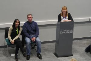 From left: Alison Buckley, Peter Speight and Alex Power.