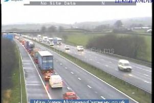 Traffic is being turned around after a serious crash on the M6 northbound between junctions J36 (Kirkby Lonsdale, Kendal, Barrow) and J37 (Kendal, Sedbergh).