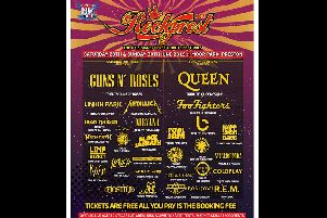 Rockprest: Full line-up has been announced