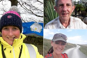 Nicky Busby, Brian Slater and Rachel Moyes are tour makers for the 2019 Tour de Yorkshire