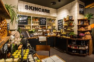 Lush 'Naked' shop in Manchester