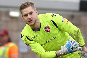Shrimps keeper Mark Halstead (photo: Getty Images)
