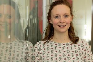 Lancaster University student Rebecca Shepherd has been picked to represent researchers at Wesminster