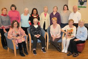 Members of the Gentle Approach to Cancer Centre.