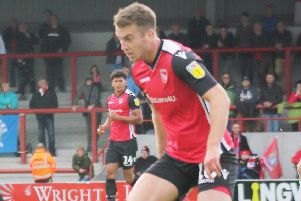 Rhys Oates opened the scoring after six minutes at the Globe Arena