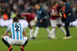 Huddersfield Town fall to defeat at West Ham.