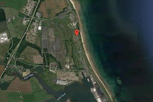 The location of the proposed new home at Cambois. Picture from Google