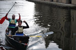 8 teams took on  Age UK Lancashires annual 25 mile Canoe Challenge from The Hand and Dagger in Treales to Water Witch in Lancaster, aiming to raise 4,000 pounds