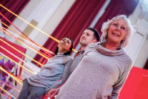 Lancastrians touring the county this April and May. Pictured are Natasha Patel, Matthew Durkan and Roberta Kerr. Picture: Chris Payne.