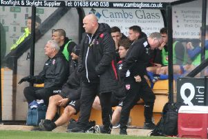 Jim Bentley saw his Morecambe players win at Cambridge United last time out