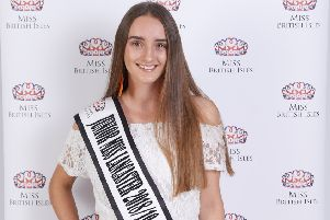 Sofie Deighton is set to compete in the national finals of The Miss British Isles competition. Picture: Nick Price.