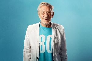 Sir Ian McKellen will appear twice at The Dukes on May 28. Photo: Oliver Rosser, Feast Creative.