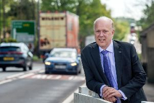 Transport Secretary Chris Grayling to launch consultation on �1 billion A66 investment options''16 May 2019.'Picture Bruce Rollinson