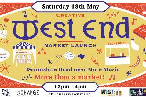 Creative West End market launches on Saturday, May 18.