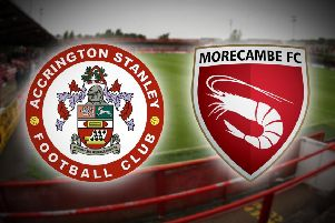 Morecambe and Accrington Stanley will meet in pre-season