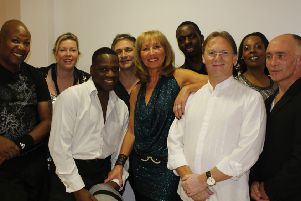 Angelo Starr, Lorraine Silver and the team.