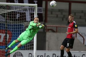 Barry Roche has signed a new contract with Morecambe             Picture: Getty Images