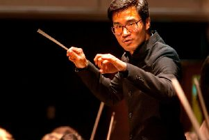 Jonny Lo, musical director of Lancasters Haffner Orchestra