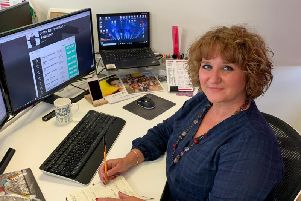 Cheryl Nicholls, who is a senior promoter with Cuffe & Taylors new touring theatre division based in their Bartle offices.