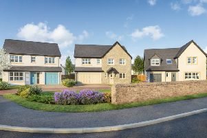 An artist's impression of some of the Story homes in Halton.