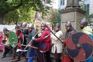 Vikings will be taking over the Flag Market in Preston