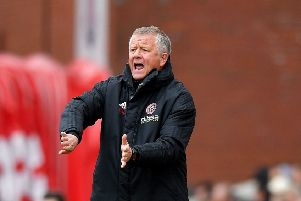 Sheffield United manager Chris Wilder. Picture: Dave Howarth/PA