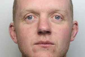 Anthony Davis beat his partner to death in the home they shared in South Normanton. Photo: Derbyshire Constabulary.