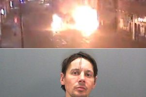 Lubos Filek set himself on fire when he tried to burn down a chip shop. Photo provided by North Yorkshire Police.