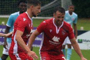 Shaun Miller and Aaron Wildig will be two of Morecambe's key players for the new season