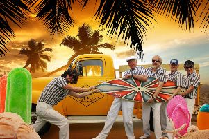 Beach Boyz tribute band will be heading to The Platform in Morecambe.