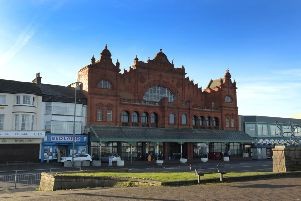 Photo Neil Cross'The Winter Gardens, Morecambe
