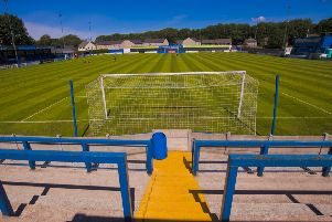 Lancaster City's Giant Axe ground. Picture: Tommy McMillan