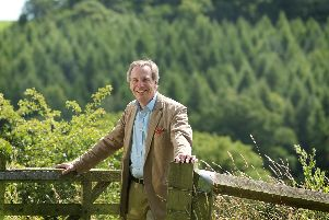 The Government's Tree Champion, Sir William Worsley of Hovingham Hall. Picture by Monty Rakusen.
