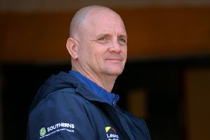 Interim Leeds Rhinos boss, Richard Agar, achieved what he set out to do with victory at London Broncos - Super League survival with games to spare. PIC: Bruce Rollinson/JPIMedia