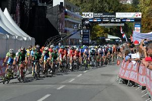 The 2018 UCI World Cycling Championships in Innsbruck. Picture: Bruce Rollinson