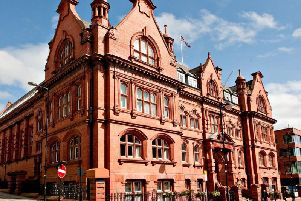 Wigan Town Hall where councillors meet to discuss issues affecting the borough