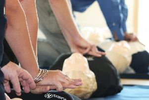 St John Ambulance delivering CPR