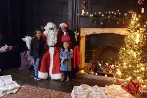 Father Christmas - or Santa Claus if you prefer - will be at Gainsborough Old Hall on December 14 and 15.
