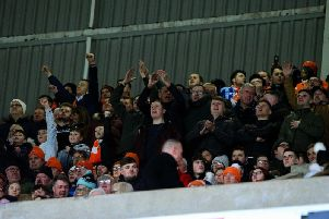The Seasiders were in fine voice at the Stadium of Light yesterday