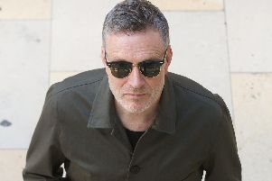 Blancmange frontman Neil Arthur. The Darwen-born singer has a new album coming out this month, and plays his home town as part of a nationwide tour