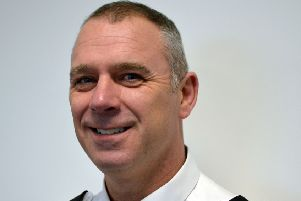 Acting Superintendent John Wilkinson is in command of policing in Harrogate, Craven, Hambleton and Richmondshire.